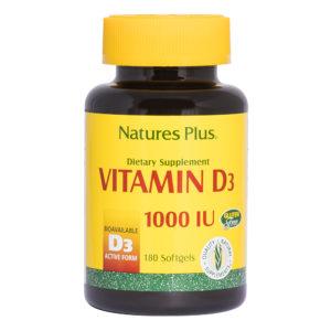 Vitamine D 1.000 I.U. # 180 softgels