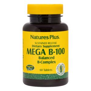Mega B-100  S/R # 60 tabletten