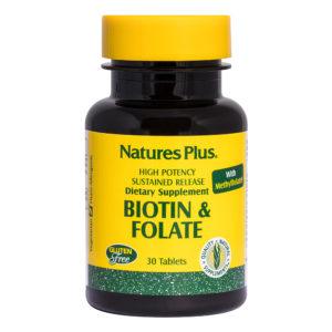Biotin & Folic Acid  S/R # 30 tabletten