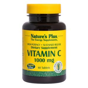 Vitamine C 1.000 mg  S/R # 60 tabletten