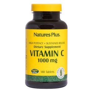 Vitamine C 1.000 mg  S/R # 180 tabletten