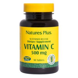 Vitamine C 500 mg  S/R # 90 tabletten