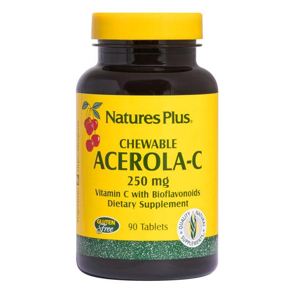 Acerola-C Complex 250 mg (Cherry) # 90 kauwtabletten