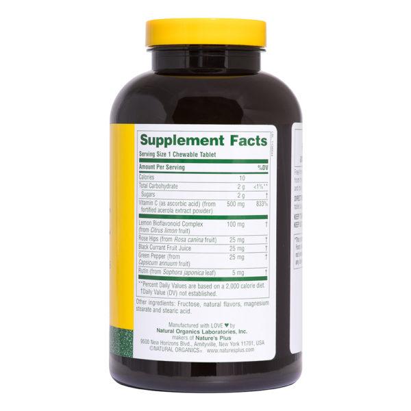 Acerola-C Complex 500 mg (Cherry) # 150 kauwtabletten