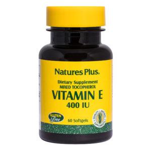Vitamine E 400 I.U. Mixed Tocopherols # 60 softgels