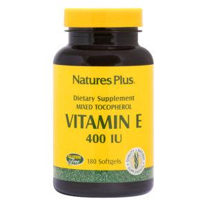 Vitamine E 400 I.U. Mixed Tocopherols # 180 softgels