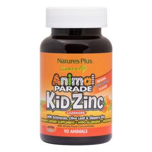 Animal Parade - KidZinc Lozenges (Tangerine) # 90 kauwtabletten