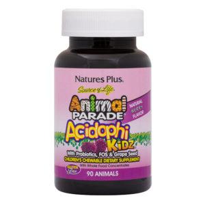Animal Parade - AcidophiKidz (Berry) # 90 kauwtabletten