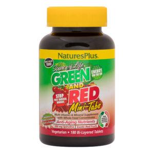 Source of Life Green & Red Mini-Tabs (Bi-Layered) # 180 duo-tabs