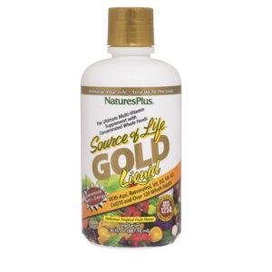 Source of Life GOLD  Liquid (groot) (Tropical Fruit ) # 887ml fles