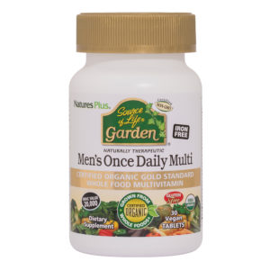 Source of Life GARDEN  Men's Once Daily Multi (Organic) # 30 tabletten