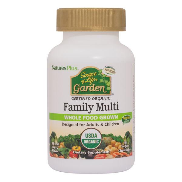 Sourcce of Life Garden FAMILY (Chewable Multi) #60 kauwtabletten