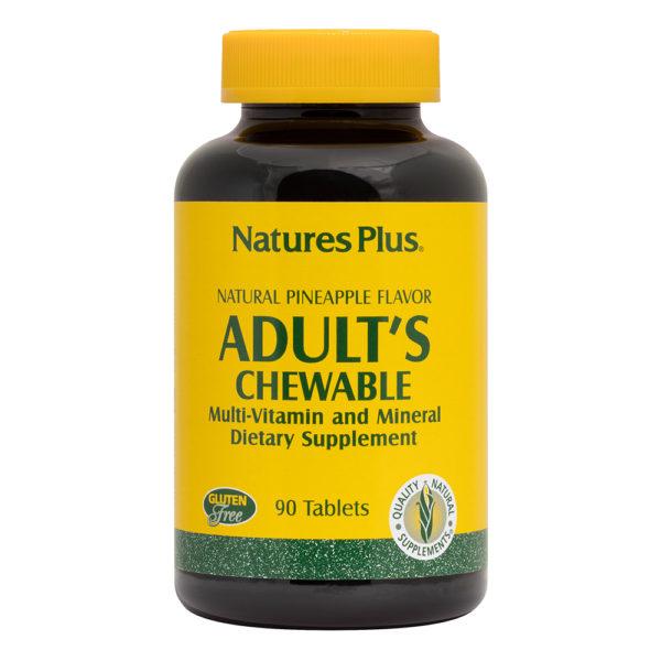 Adult's Chewable (Pineapple) # 90 kauwtabletten