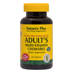 Adult's Multi-Vitamin Chewable (Exotic Red Berry) # 60 kauwtabletten