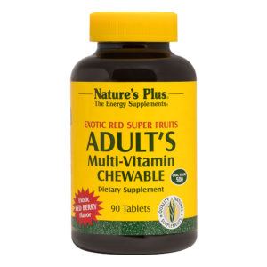 Adult's Multi-Vitamin Chewable (Exotic Red Berry) # 90 kauwtabletten