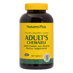 Adult's Chewable (Pineapple) # 180 kauwtabletten
