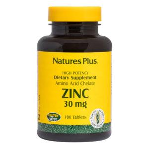Zinc 30 mg # 180 tabletten