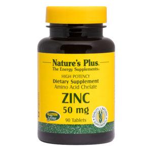 Zinc 50 mg # 90 tabletten