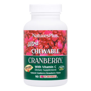 Ultra Cranberry Chewable (Cranberry/Strawberry) # 90 kauwtabletten