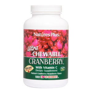 Ultra Cranberry Chewable (Cranberry/Strawberry) # 180 kauwtabletten