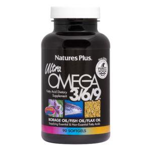 Ultra Omega 3/6/9 - Non-GMO # 90 softgels