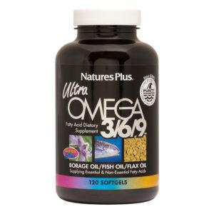 Ultra Omega 3/6/9 - Non-GMO # 120 softgels