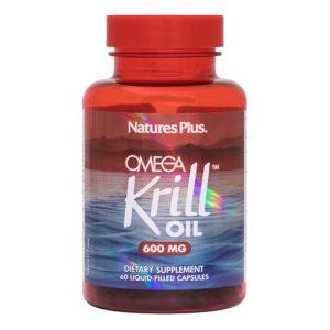 Omega Krill Oil 600 mg (42% gestandaardiseerd) # 60 liquidcaps