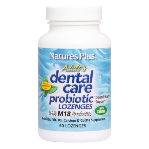 Adult's Dental Care Probiotic Lozenges (Pepermint) with 50mg CoQ10 # 60 zuigtabletten