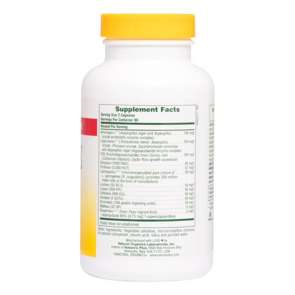 Probiotics & Bioperine # 180 vegicaps