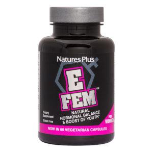 E-Fem - Natural Hormone Support&Relief # 60 vegicaps