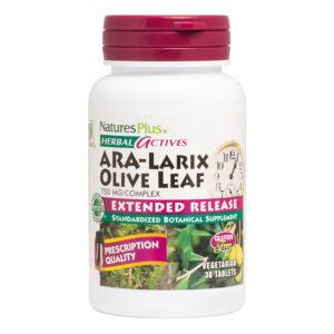 ARA-Larix / Olive Leaf  750 mg Complex E.R. # 30 tabletten