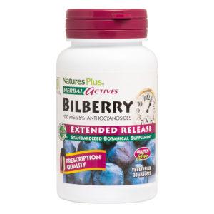 Bilberry 100 mg E.R. # 30 tabletten