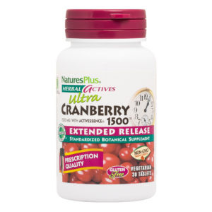 Ultra Cranberry Tabs 1500 mg E.R. # 30 tabletten