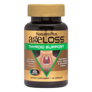 Ageloss Thyroid Support # 60 vegicaps