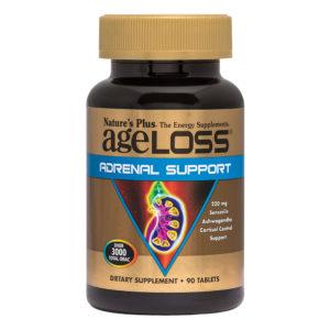 Ageloss Adrenal Support # 90 tabletten