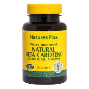 Natural Beta Carotene # 90 softgels